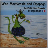 Wee MacNessie and Ogopogo - English/French (2-5 years)