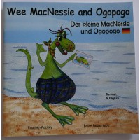 Wee MacNessie and Ogopogo - English/German (2-5 years)