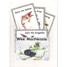 Wee MacNessie Character Cards - set of 5 (3+ years)