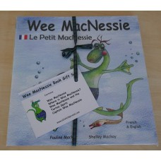 Wee MacNessie Book Gift Set - French and English (2-5 years)