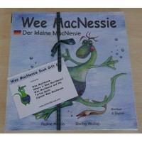 Wee MacNessie Book Gift Set - German and English (2-5 years)