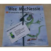 Wee MacNessie Book Gift Set - Spanish and English (2-5 years)