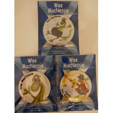 Wee MacNessie Fridge Magnets (Set 1)