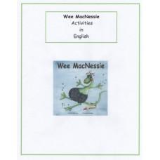 Wee MacNessie Activities - English