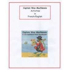 Captain Wee MacNessie Activities - French and English