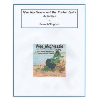 Wee MacNessie and the Tartan Spots Activities - French and English