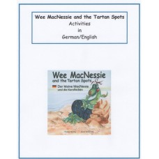 Wee MacNessie and the Tartan Spots Activities - German and English