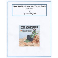 Wee MacNessie and the Tartan Spots Activities - Spanish and English