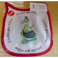 Wee MacNessie Bib - Welcome to Scotland in Scottish Gaelic