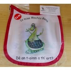 Wee MacNessie Name Bib in  Scottish Gaelic