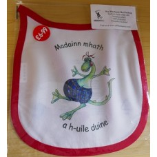 Wee MacNessie Good Morning Bib in  Scottish Gaelic