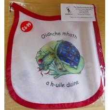 Wee MacNessie Good Night Bib in  Scottish Gaelic