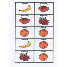 English fruit dominoes