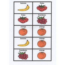 French fruit dominoes