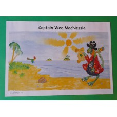 A3 Captain Wee MacNessie Laminated Poster