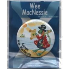 Captain Wee MacNessie fridge magnet