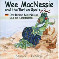 Wee MacNessie and the Tartan Spots -  English/German (2+ years)