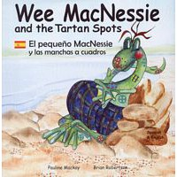 Wee MacNessie and the Tartan Spots -  English/Spanish (2+ years)